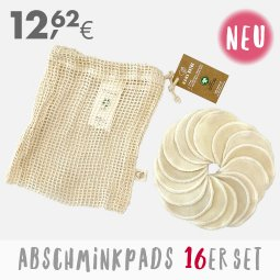 Online bis 31.12.2020 - Abschminkpads