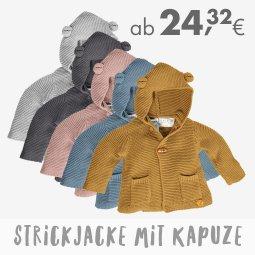 Online bis 31/12/2020 - Strickjacke mit Kapuze