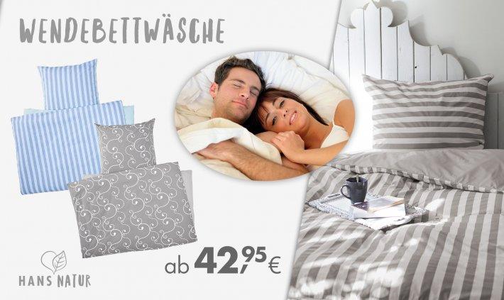 Online bis 31/07/2020 – Bettwäsche Erwachsene