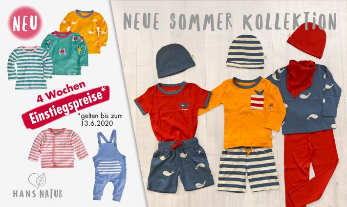 Online bis 31/07/2020 - Neue Sommer Kollektion