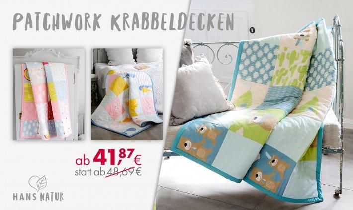 Online bis 31.12.2020 - Patchwork Krabbeldecken