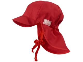 Baby und Kinder Mütze Felix UV-80 rot