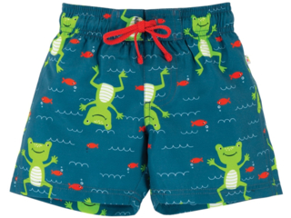 Kinder Badehose UV Schutzkleidung UV 50 plus Frosch
