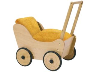"Puppenwagen ""Sarah"" Buche massiv"