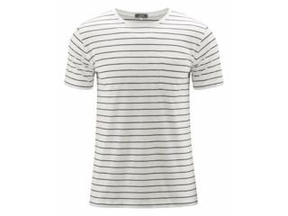 "Herren T-Shirt ""Ignacio"" white-ink blue"