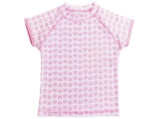 "Kinder T-Shirt Badeshirt UV Schutzkleidung UV 50+ ""Pink"""