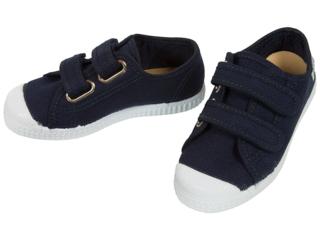 Kinder Schuhe Sneaker mit Klettverschluss marine