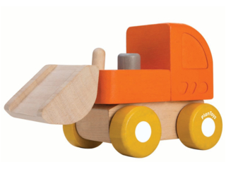 Bulldozer aus Kautschukholz