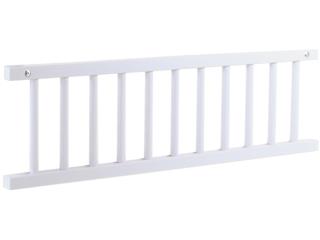Babybay Original Verschlussgitter, Buche massiv, weiß lackiert