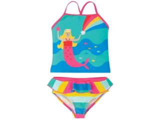Mädchen Bikini UV Schutzkleidung UV 50 plus Meerjungfrau