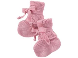 Babyschuhe Bio-Schurwolle (kbT) rosa