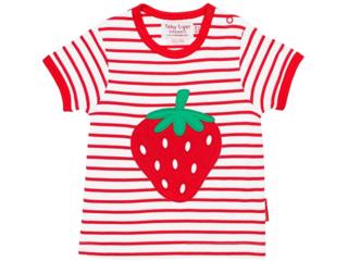 Baby und Kinder T-Shirt Erdbeere