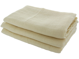 Mullwindeln Bio-Baumwolle 3er-Set natur