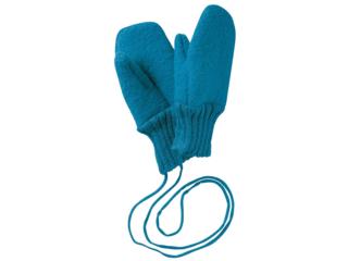 Baby und Kinder Handschuhe, Merino-Wollwalk (kbT) blue