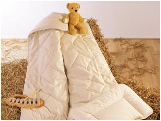 Baby- und Kinderbettdecke Kamelflaumhaar