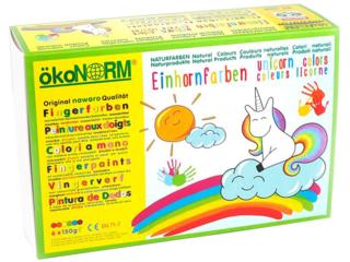 """Fingerfarben """"Einhorn"""""""