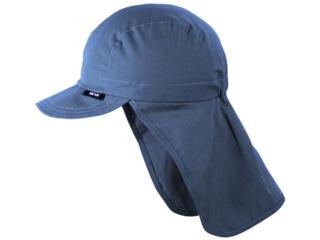 Baby und Kinder Sonnenschutz Mütze UV 50 jeans