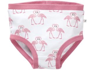 Mädchen Slip Bio-Baumwolle Flamingo