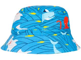 Kinder Mütze Sonnenhut UV 50 plus Hai