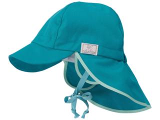 Baby und Kinder Mütze Tom UV-80 green slate
