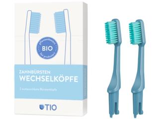 Wechselköpfe für Zahnbürste 2er Set soft