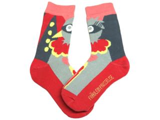 Kinder Socken Paradiesvogel