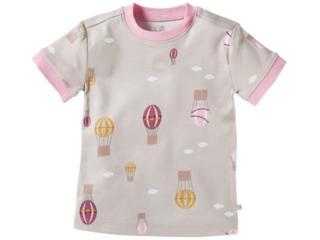 Kinder T-Shirt Bio-Baumwolle Ballon rosa