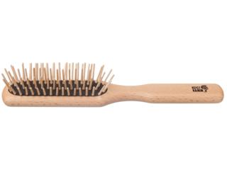 Haarbürste aus Buchenholz