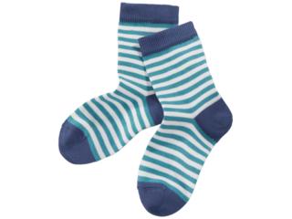 Kinder Mädchen Socken gletscher-blau