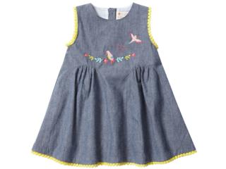 """Baby und Kinder Kleid zum Wenden """"Safari"""""""