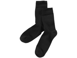 Feine Socke schwarz