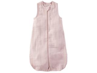 Schlafsack Baby Musselin Bio-Baumwolle rose