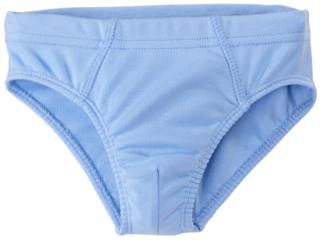 Jungen Slip Bio-Baumwolle hellblau