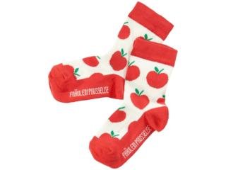 Kinder Socken Apfel rot