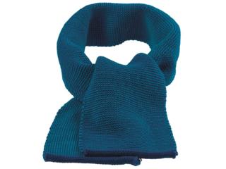 Kinder Schal melange-marine-blau