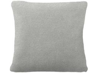 Kissenbezug 40x40 cm Bio Baumwolle vanilla-grey-melange