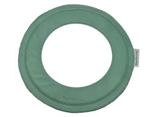 """Frisbee Wurfring """"Loop"""" aus pflanzlich gegerbtem Leder distel"""