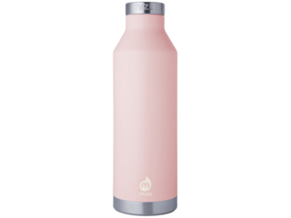 "Trinkflasche Thermosflasche Edelstahl V8 ""Soft Pink"""