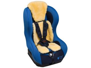 Lammfell Auflage für Babyschale und Kindersitz, waschbar