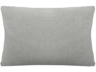 Kissenbezug 40x60 cm Bio Baumwolle vanilla-grey-melange