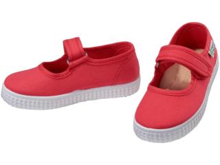 Kinder Schuhe Ballerinas mit Klettverschluss coral