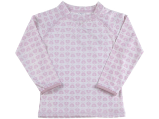 "Kinder Langarmshirt Badeshirt UV Schutzkleidung UV 50+ ""Pink"""