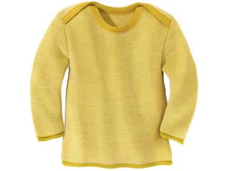 Baby und Kinder Pullover melange-curry