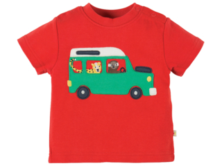 Baby und Kinder T-Shirt Taxi rot
