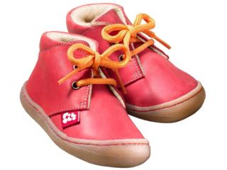 """Kinder Schuhe """"Juan"""" pflanzlich gegerbt pepper"""