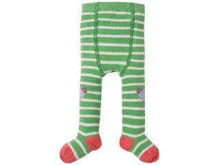 Baby und Kinder Strumpfhose Schäfchen grün