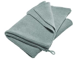 Handtuch Bio-Baumwolle Perl-Strick-Qualität mint cream