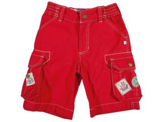 Baby und Kinder Cargo-Shorts Tomate