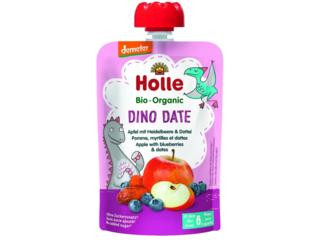 "Pouchy ""Dino Date"" Bio-Früchtepüree"