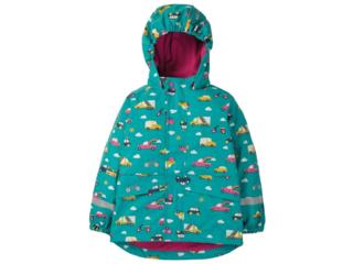 Kinder Regenjacke mit Kapuze Auto